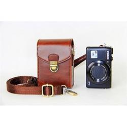 BolinUS Digital Camera Cover Case Bag with Shoulder Strap For Canon Powershot G7X Mark II G1X2 G15 G16 G1X SX700 SX520 SX530 SX170 G10 G11 G12 -Coffee
