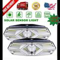 Solar Motion Sensor Light Outdoor - New Upgrade 104 LEDs Solar Lights Outdoor,Solar Lights Outdoor Waterproof,Led Solar Lights Outdoor Motion Sensor,Super Bright Solar Sensor Lights