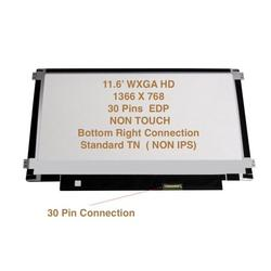 """Chi Mei N116bge-eb2 Rev. C1 Replacement LAPTOP LCD Screen 11.6"""" WXGA HD LED DIODE (Substitute Replacement LCD Screen Only. Not a Laptop ) (SIDE BRACKETS)"""