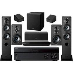 sony 7.2-channel wireless bluetooth 4k 3d hd blu-ray a/v surround sound home theater system (Discontinued)
