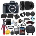 Canon EOS 70D Digital SLR Camera with Dual Pixel CMOS AF Video W/ EFS 10:18 MM