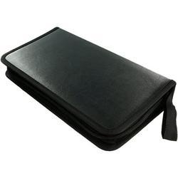 Lorddream CD Case, 80 Capacity DVD Storage DVD Case VCD Wallet Binder CD Storage Organizer Flexible Plastic Protective DVD Holder Bag