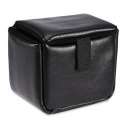 CHICIRIS Camera Bag,1pc Shockproof PU Leather Insert Padded Camera Storage Bag Case For DSLR Camera Black, Camera Case