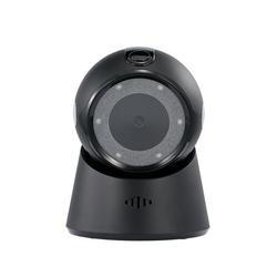 Tomshoo Wired Barcode Scanner USB Versatile Scanning Hands-free Scan QR Code 1D&2D Code Reader for Supermarkets/Stores (Black)