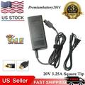 65W AC Adapter Charger For Lenovo ThinkCentre M73 M93p; Tiny-in-One 23 Desktop