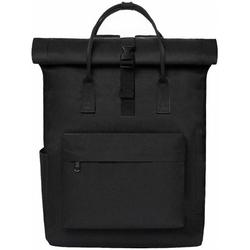 Backpack Women Backpack Men Daypack with Laptop Compartment, Unisex Modern Backpack Daypack, Waterproof School Backpack, Casual Backpack School Leisure University Work, Black