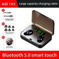 moobody A2S TWS True Wireless Earbuds Earphones Bluetooth5.0 Wireless Headset Sound 8D Bass Noise Reduction HD Call Sports Mini Earbuds With Digital Power Display