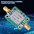 ACOUTO Power Amplifier Module,5-6000MHz Gain 20dB Broadband RF VHF UHF Signal Power Amplifier Module, RF Signal Power Amplifier