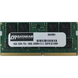 DATARAM 16GB DDR4 PC4-2400 SO DIMM Memory RAM Compatible with Lenovo THINKPAD T470S