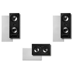 Polk Surround System: Pair of 265LS, One 255cLS In-wall Front(bundle of 3 Speakers)