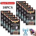 AUTCARIBLE 10 x Cell Phone Signal Boosters for Cell Phones Two Way Radios PDA's Walkie Talkies Beeper, and Even Cordless Phones in Your House