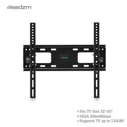 TMW400 TV Wall Mount Bracket with Spirit Level, Tilt TV Mount for Most 32-65 Inches TVs, Universal Tilting Wall Mount TV Bracket with Loading 50kg