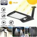 Outdoor Solar led Lights,36 LED Outdoor LED Solar Powered Motion Sensor Lights Wireless Security Wall Lighting Garden Light for Patio Deck Yard Garden Pathway Driveway