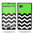 Stripes Skin For LG Optimus F3 Protective, Durable, and Unique Vinyl Decal wrap cover Easy To Apply, Remove, and Change Styles Made in the USA