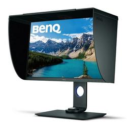 BenQ SW271 27 Inch 4K HDR Professional IPS Monitor 10-Bit with 14-Bit 3D LUT Hardware Calibration Aqcolor for Accurate Reproduction Detachable Shading Hood, Black