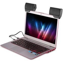 USB-Powered PC Computer Speakers,Small Laptop Speaker with Hi-Quality Sound for Windows PCs, Desktop Computer and Laptops