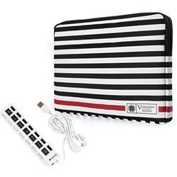 asus vivobook spin transformer pro zenbook 14 inch 2-in-1 laptop sleeve + 7 port usb hub
