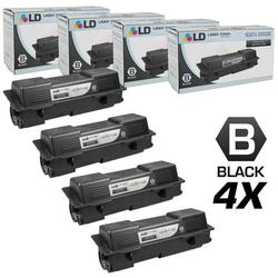 Compatible Replacements for Kyocera-Mita TK-1142 Set of 4 Black Laser Toner Cartridges for use in Kyocera-Mita FS-1035 MFP, FS-1135 MFP, and Laser M2035dn s