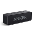 Upgraded, Anker Soundcore Bluetooth Speaker with IPX5 Waterproof, Stereo Sound, 24H Playtime, Portable Wireless Speaker for iPhone, Samsung and More
