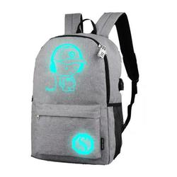 Oaktree-Backpack Laptop Backpack Travel Backpack Luminous Animation Backpack Usb Charge Computer Anti-Theft Laptop Backpack Outdoor Backpack