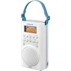 Sangean® H205 Am/fm/weather Alert Waterproof Shower Radio (white)