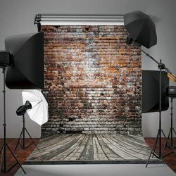 Decor Studio Photo Video Background,5 x 7ft Retro Studio Photo Video Photography Wood Wall Backdrops Vinyl Fabric Party Decor Studio Photo Video Background Screen Props