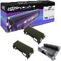 Speedy Compatible Toner Cartridge & Drum Unit Replacement for TN360 & DR-360 (2 Black, 1 Drum, 3-Pack)