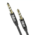 UrbanX 3.5mm Nylon Braided Aux Cable 3.3ft/1m Hi-Fi Sound, Audio Adapter Male to Male AUX Cord for Samsung Galaxy A7 Headphones, Car, Home Stereos, Speaker, Echo & more