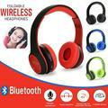 Portable Folding Bluetooth Headset Headphones Stereo Wireless Bluetooth Headset Heavy Bass Stereo Folding Auriculares Wireless Active Noise Cancelling Over-ear Bluetooth Stereo Headphones