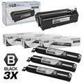 Compatible Replacements for Panasonic KX Series Set of 4 Includes: 3 KX-FAT92 Laser Toner Cartridges, and 1 KX-FAD93 Laser Black Unit for use in Panasonic KX-MB271, and KX-MB781 s