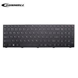 SUNMALL b50 Keyboard for Lenovo Laptop Keyboard Replacement with Frame for Lenovo LdeaPad Flex 2 15 B50 B50-30 B50-45 B50-70 B50-80 B51-80 G50 G50-30 G50-45 G50-70 G50-80 G50-75 Z50 US Layout