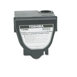 Toshiba T2460 Toner, 10000 Page-Yield, Black