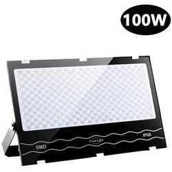 100W LED Flood Light Outdoor, Outside Lights,10000lm Super Bright Security Lights, IP66 Waterproof Floodlights, Led Security Lights for Garage, Garden, Yard Lighting