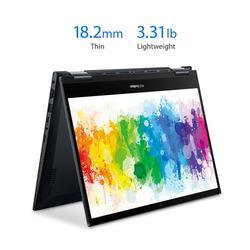 "ASUS 14"" Ryzen 5 2-in-1 8GB/256GB Laptop; ASUS VivoBook Flip 14 Thin and Light 2-in-1, 14� FHD Touch, AMD Ryzen 5 5500U, 8GB DDR4 RAM, 256GB SSD, Fingerprint, Windows 10 Home, TM420UA-WS51T, Black"
