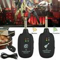 Wireless Guitar System Guitar UHF Wireless Audio Transmitter Receiver Electric Digital Guitar System Transmitter Receiver Set