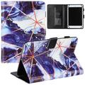 """Universal Marble Case for 9.6/9.7/10/10.1/10.2/10.3/10.4/10.5 Inch Display Tablet - Slim Lightweight Stand Wallet Case for Tab E 9.6""""/ Tab A 10.1""""/ Onn 10""""/ Fire HD 10/ Android Tablet 10 10.1 Inch"""