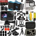 GoPro HERO9 (Hero 9) Action Camera (Black) with Premium Accessory Bundle – Includes: SanDisk Extreme Pro 32GB microSD Memory Card, Underwater Housing, Protective Carrying Case, & MUCH MORE