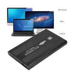 OTVIAP 2.5 Inch SATA HDD Case,2.5 Inch SATA USB 3.0 Mobile Hard Disc Drive External Enclosure HDD Aluminum Box Case,USB 3.0 Hard Disc Enclosure