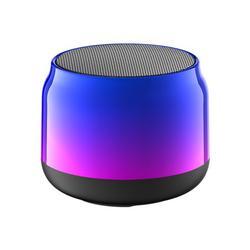 ABS Bluetooth Speaker With 1400mAh Built-In Battery Portable Bass Speaker HIFI Stereo Speaker Universal Wireless Miniature Subwoofer