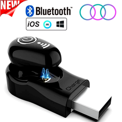 Bluetooth 5.0 True Wireless Earbuds with Charging Case Waterproof Earbuds 30 Hours Playtime TWS Stereo Headphones Built-in Mic Earbuds Premium Sound with Deep Bass for Sport,Running