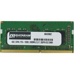 DATARAM 4GB DDR4 PC4-2400 SO DIMM Memory RAM Compatible with Lenovo THINKPAD T470P