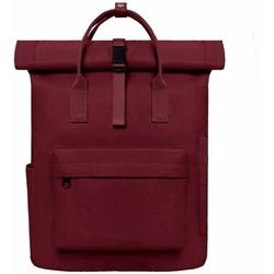 Backpack Women Backpack Men Daypack with Laptop Compartment, Unisex Modern Rolltop Backpack Daypack, Waterproof School Backpack, Casual Backpack School Leisure University Work (Wine Red)