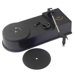 Romacci Mini Retro USB Turntable Record Player with Speaker Vinyl Turntables Audio Players Phonograph Convert Vinyl LP to MP3/WAV Plug and Play