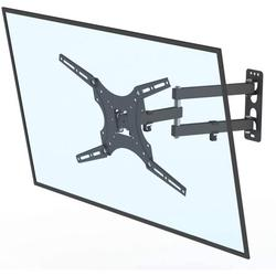 Universal Adjustable TV Wall Mount for Most 26-55 Inch Flat Curved TVs TMX400 with Spirit Level - Wall Mount TV Bracket