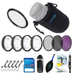 Expo Lens Kit for Canon EF 70-200mm f/4L USM Telephoto Zoom Lens for Canon SLR Cameras