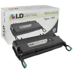 LD Remanufactured Replacement for Ricoh 410594 (Type 185) Black Laser Toner Cartridge for use in Ricoh Aficio 150, 180, and 185 s