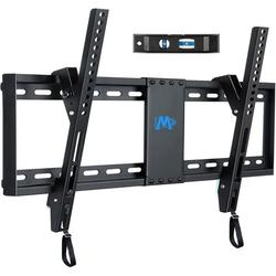 """UL Listed TV Mount for Most 37-70 Inches TVs, Universal Tilt TV Wall Mount Fits 16"""", 18"""", 24"""" Studs with Loading 132 lbs & Max VESA 600x400mm, Low Profile Wall Mount Bracket"""