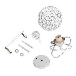 Mgaxyff Crystal Wall Lamp, Crystal Lamp,Modern Crystal Wall Lamp Bedside Night Light Bedroom Living Room Hall Lighting