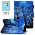 """Smart Case for Kindle Paperwhite 10th Gen 2018 & Prior Generations, Bestshe Slim Protective PU Leather Stand Cover for 6.0"""" Kindle E-Reader (Fit All 2012 2013 2015 2016 2018 Version), Forest"""