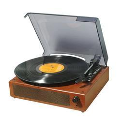 Dodocool Retro Record Player 33/45/78RPM Gramophone USB Turntable Disc Household Portable Gramophones Home Decorative Tool
